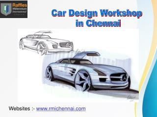 Automotive Product Design Degree Course
