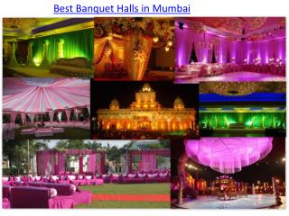 Best Banquet Halls in Mumbai