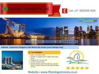 LUXURIOUS HOTELS IN SINGAPORE