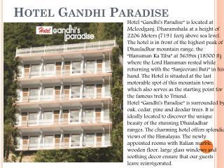 Hotel Gandhi Paradise