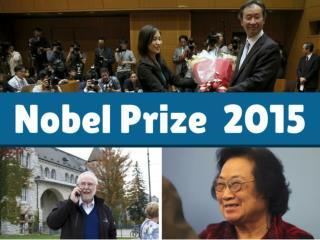 Nobel Prize 2015