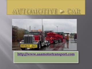 Heavy Equipment Transport Shipping Services