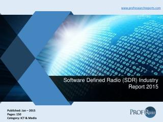 Software Defined Radio (SDR) Industry Trends, Market Specification 2015