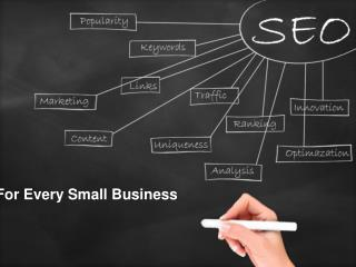 Affordable SEO Services For Every Small Business