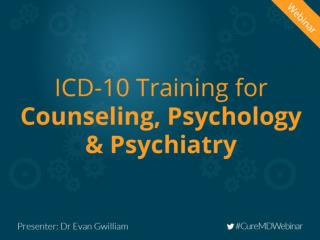 ICD-10 Training For Counseling, Psychology & Psychiatry
