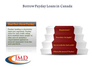 Payday Loans Canada - JMD