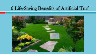 6 Life-Saving Benefits of Artificial Turf