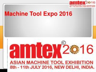 Machine tool expo 2016