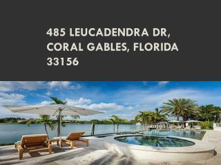 485 LEUCADENDRA DR, Coral Gables, Florida 33156