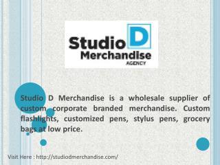 Promotional Pens | Studio D Merchandise