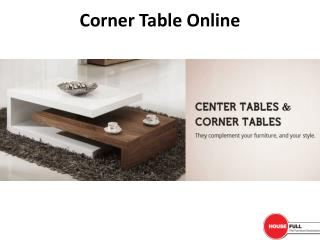Buy Center Table & Corner Table Online in India at Housefull.co.in
