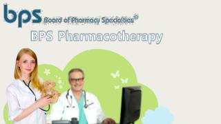 BPS-Pharmacotherapy certification Past Papers