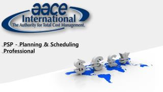 PSP - Planning & Scheduling Professional Online Test 2015