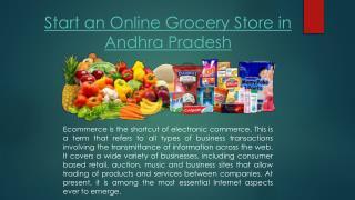 Online grocery store in Andhra Pradesh