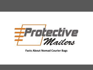 Facts About Nomad Courier Bags