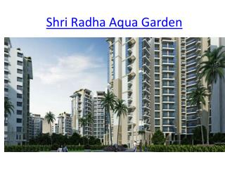 New Launch Project  Shri Radha Aqua Garden In Greater Noida West