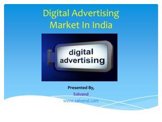 Digital Advertising Market In India
