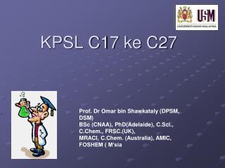 KPSL C17 ke C27