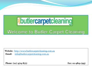Butler Carpet Cleaning