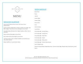 Mezze Mare Restaurant