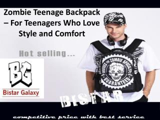 Zombie Teenage Backpack – For teenagers who love style and comfort