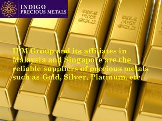 Precious Gold Metals