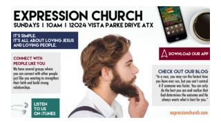 Out of All Austin Churches, You'll Have A Connection With Us Like No Other