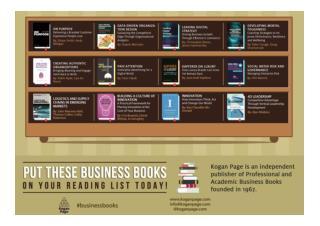 Kogan Page Business Books