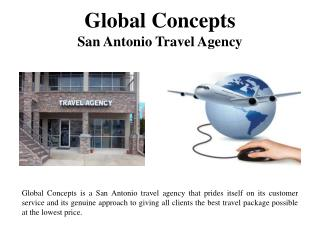 Global Concepts - San Antonio Travel Agency