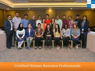 Certified Human Resource Professionals