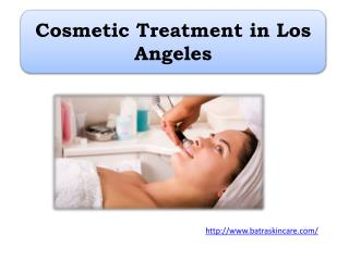 Cosmetic Treatment in Los Angeles
