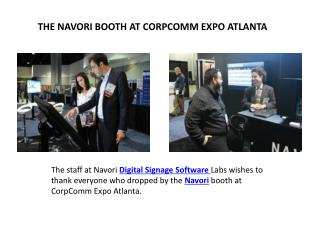 The staff at Navori Digital Signage Software Labs