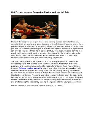 Chinese Boxing Kung Fu