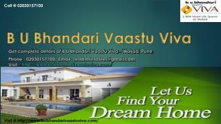 BU Bhandari Vaastu Viva - Wakad, Pune - Price, Review, Floor Plan - Call @ 02030157100