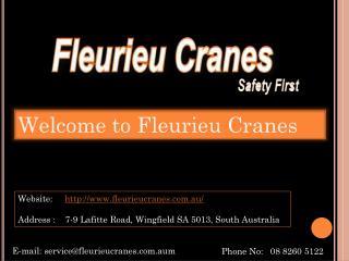Fleurieu Cranes Hire