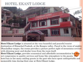 Hotel Ekant Lodge