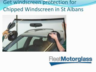 Get windscreen protection for Chipped Windscreen in St Albans