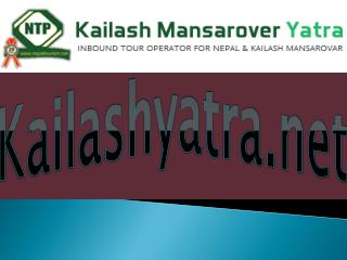 Kailash Yatra 2016 - Kailash Tour Package 2016
