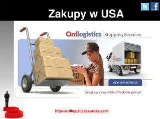 Zakupy online w USA