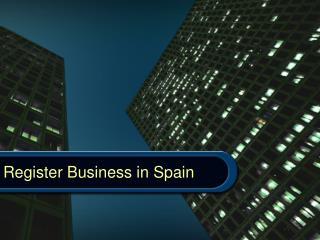 register business in spain