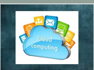 Cloud Computing Introduction