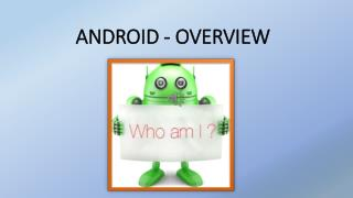 Android introduction & its Versions overview