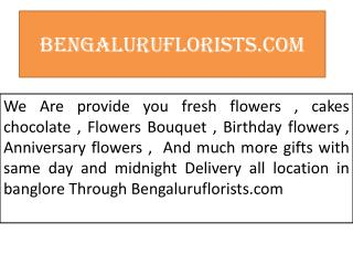 Flower delivery in banglore