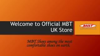 MBT UK Men's Footwear Collections powerpoint presentation