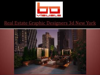 Real Estate Graphic Designers 3d New York