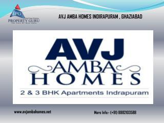 AVJ Amba Homes Indirapuram Ghaziabad