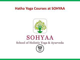 Hatha Yoga Courses - SOHYAA