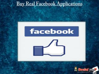 You Should Buy Facebook Applications to Gain Popularity