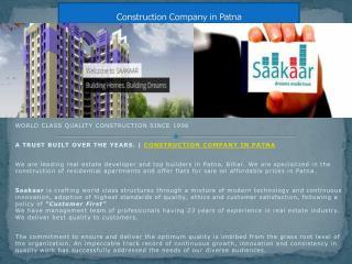 Construction Company in Patna