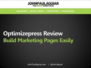 Optimizepress Discount and Review